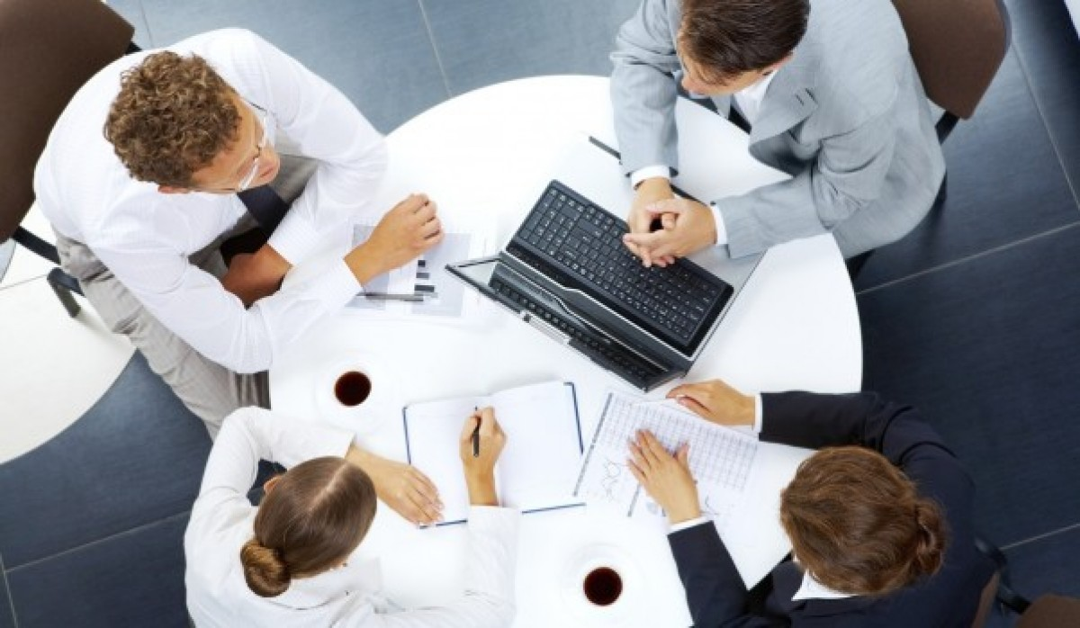 business collaboration team